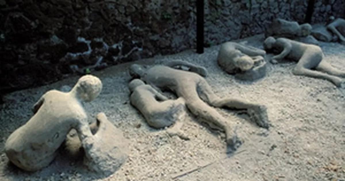 G1  Onda de calor de 600C matou moradores de Pompeia diz estudo  notcias em Cincia e Sade