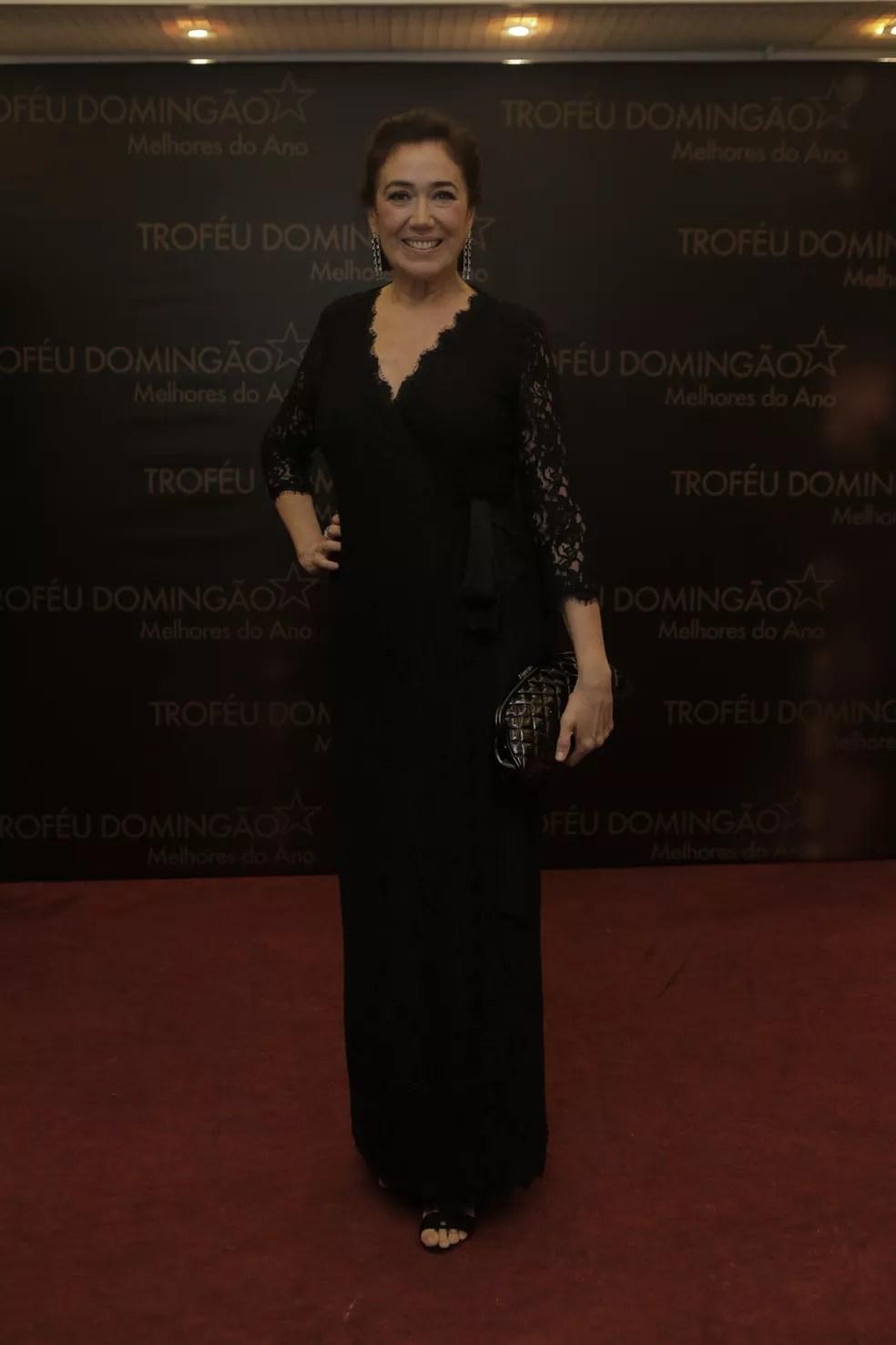 Lilia Cabral sempre linda e elegante (Foto: Raphael Dias / Gshow)