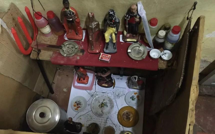 Objetos usados na tortura foram encontrados na casa dos tios presos  (Foto: Divulgação/ Polícia Civil de MS/Arquivo)