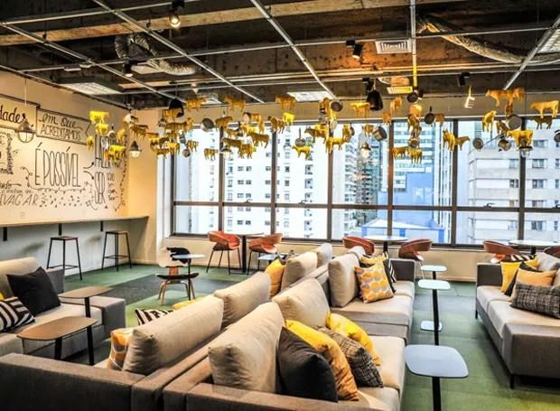 Google Campus Café (Foto: Reprodução/Facebook)