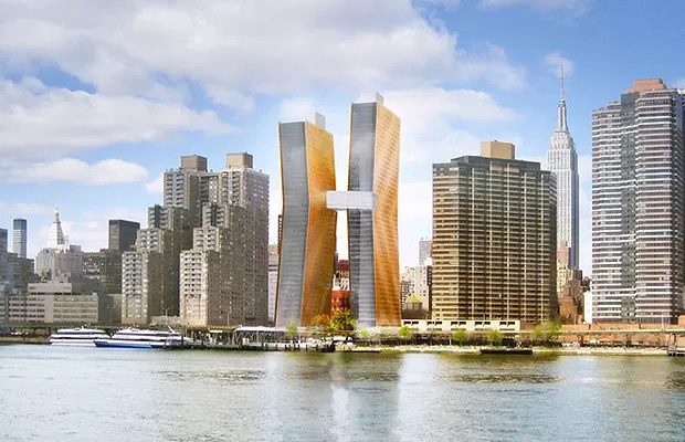 As Dancing Towers terão, além do design interessante, a resistência a desastres naturais (Foto: Divulgação)