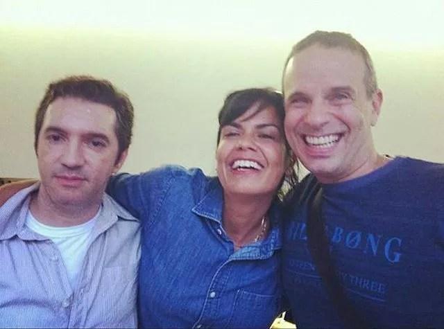 Rafael, Luciana e Dudu Braga (Foto: Reprodução/Instagram)
