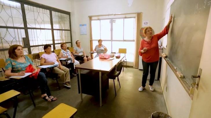 Aulas de Educação de Jovens e Adultos (EJA) no Rio de Janeiro. — Foto: Gustavo Wanderley/TV Globo