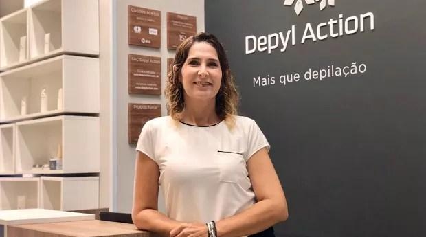 Ana Karine Azevedo Diniz Arcoverde, multifranqueada da Depyl Action (Foto: Divulgação)
