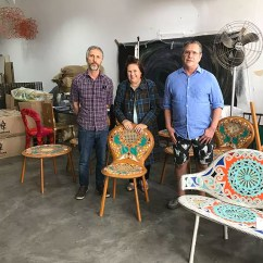 Campana Brothers Favela Chair King San Antonio Brazilian Baroque How Re Cycling Might Inspire Suzy In The Studio With Humberto Left And His Brother Fernando