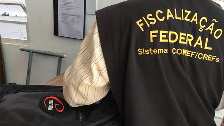 Fiscalização em academias foi realizada pelo Conselho Regional de Educação Física da Paraíba — Foto: Foto: Ascom CRF10/Divulgação