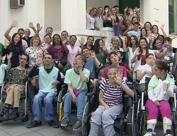 APPC completa 22 anos em Santos, SP (Foto: Reprodução/TV Tribuna)