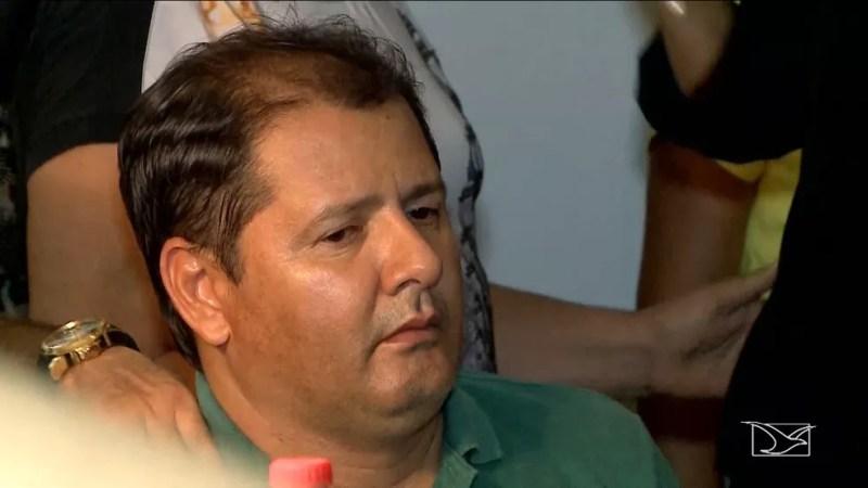 Mariano Filho é considerado um dos suspeitos da morte do próprio pai, o ex-prefeito de Barra do Corda. (Foto: Reprodução/TV Mirante)