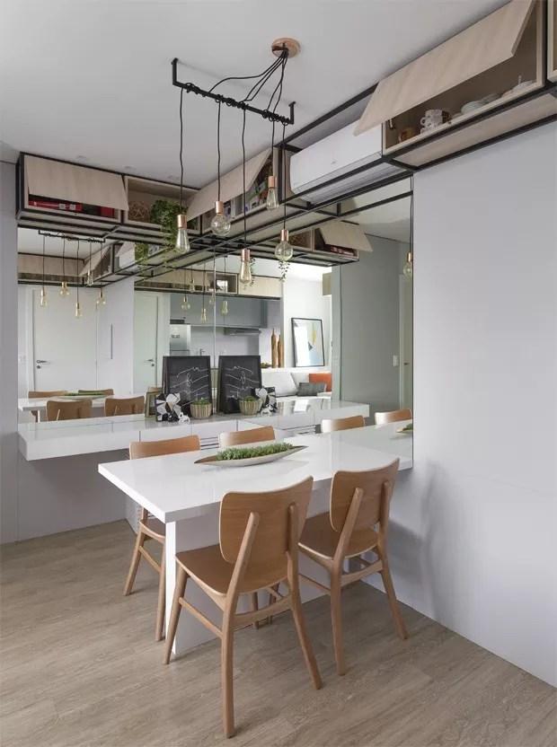 Apartamento pequeno tem boas solues de aproveitamento de