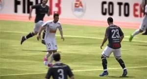 Neymar dribla marcador do Corinthians em game (Foto: Divulgação)