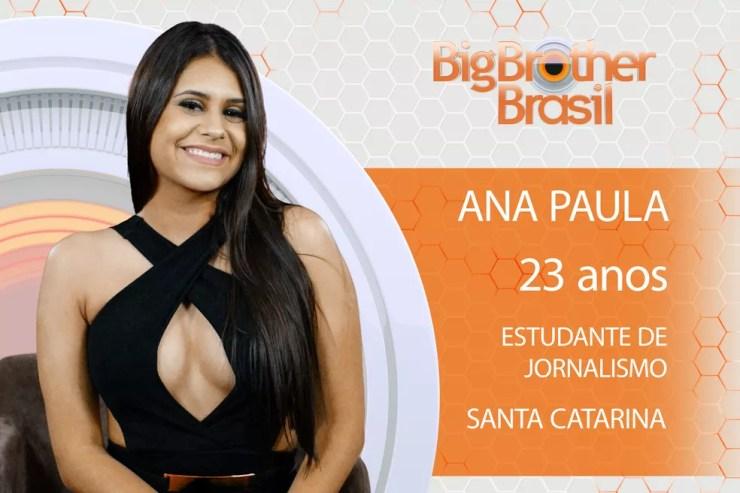 BBB18: Ana Paula é estudante de jornalismo (Foto: Divulgação)