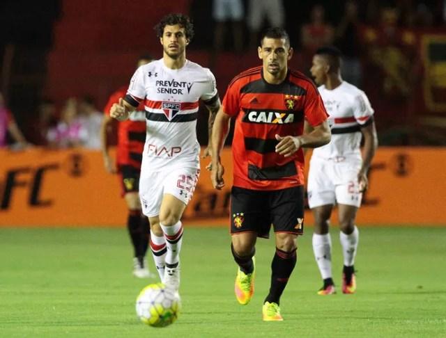 Sport x São Paulo Série A (Foto: Marlon Costa / Pernambuco Press)