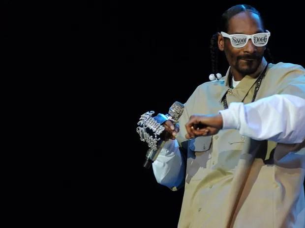 Snoop Dogg canta no SWU (Foto: Flavio Moraes/G1)