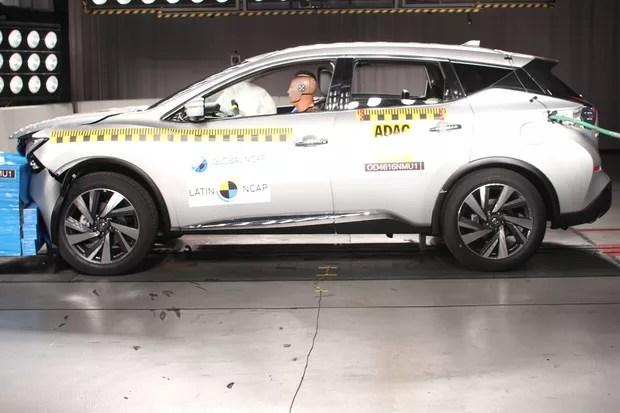 Nissan Murano vai mal em crash test do Latin NCAP (Foto: Divulgação)