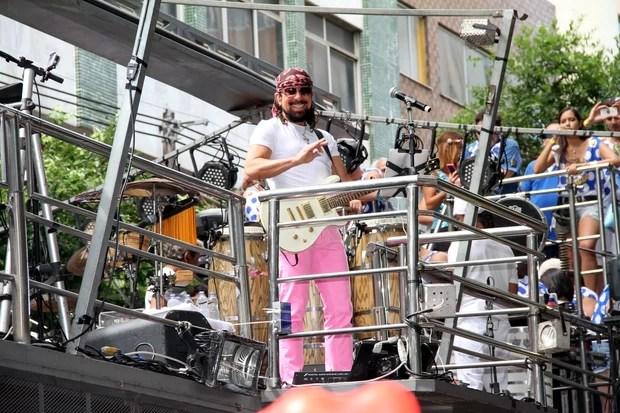 Chiclete com Banana no carnaval de Salvador (Foto: Wallace<br /> Barbosa /AgNews)