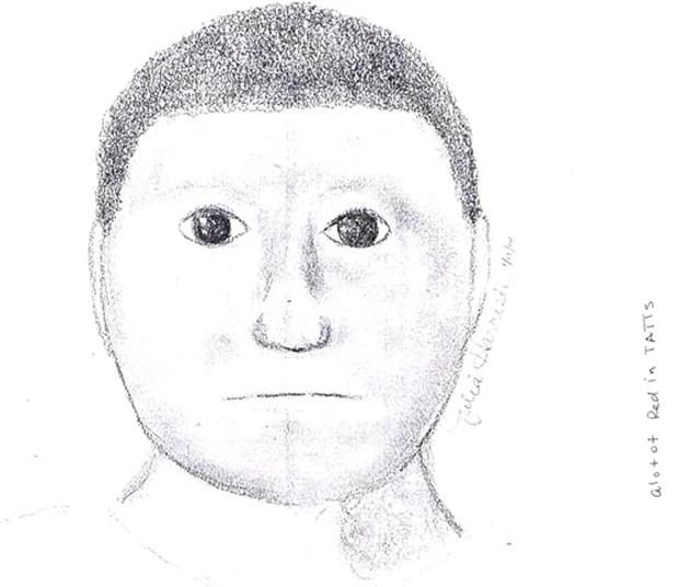 Retrato falado de assaltante virou piada por se parecer com desenho de criança (Foto: Divulgação/Lamar County Sheriff's Department )