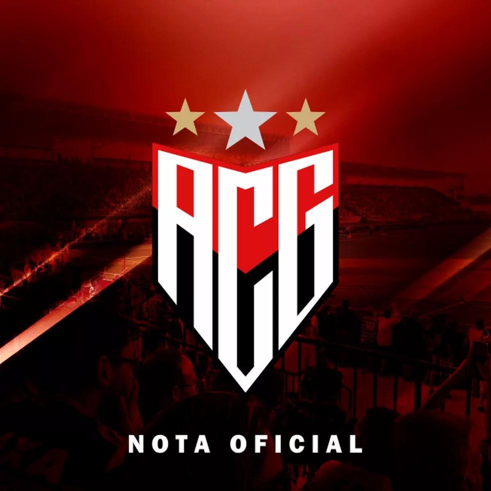 Atlético-GO lamenta postura de Jorginho — Foto: Atlético-GO