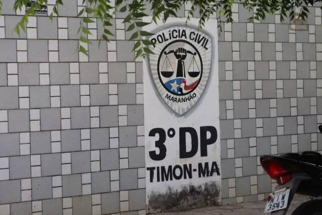 Segundo delegado do 3º DP, de Timon (MA), menino foi torturado durante toda a tarde de segunda-feira (17) — Foto: Lorena Linhares/ G1 PI