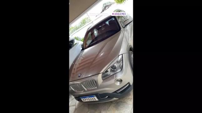 BMW usada por grupo criminoso em Rondônia — Foto: Reprodução