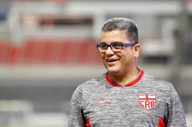 Marcelo Cabo quer fazer história no CRB — Foto: Felipe Nayland/ Gazeta de Alagoas