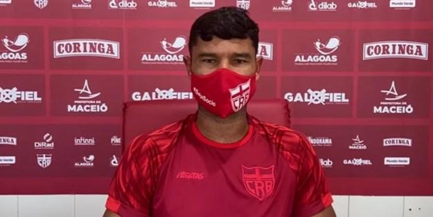 Gum deve voltar ao time nesta quarta — Foto: Divulgação/Ascom CRB