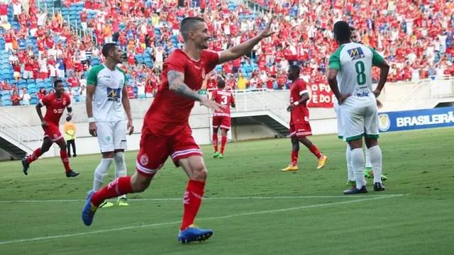 Danilo fez o segundo do América-RN, que parecia encaminhar resultado no início do jogo