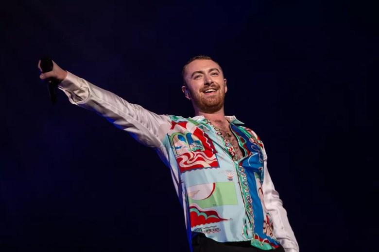 Sam Smith canta em show no Lollapalooza 2019 — Foto: Fábio Tito/G1