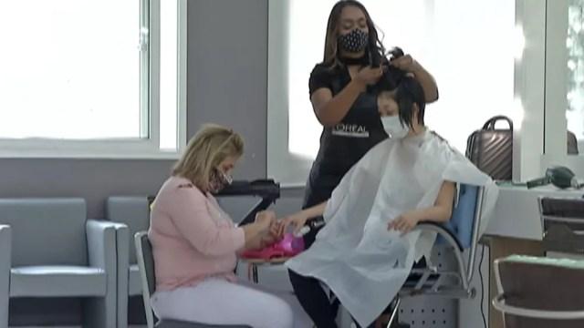 Salões de beleza podem voltar a funcionar — Foto: Reprodução/ TV Diário