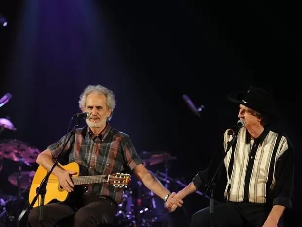 Sérgio Reis e Renato Teixeira (Foto: Caroline Bittencourt/Divulgação)
