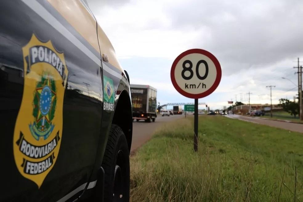 BR-020 é a rodovia com o maior número de acidentes no DF e Entorno, diz PRF — Foto: PRF/Divulgação