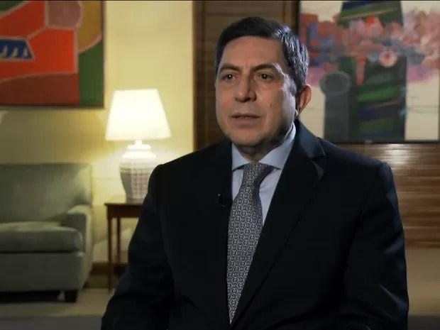 Presidente do Bradesco, Luís Carlos Trabuco (Gnews) (Foto: Reprodução GloboNews)