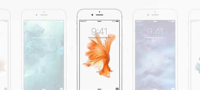 iPhone 6S Plus tem um design característico dos telefones da Apple e alumínio 7000 (Foto: Divulgação/Apple)