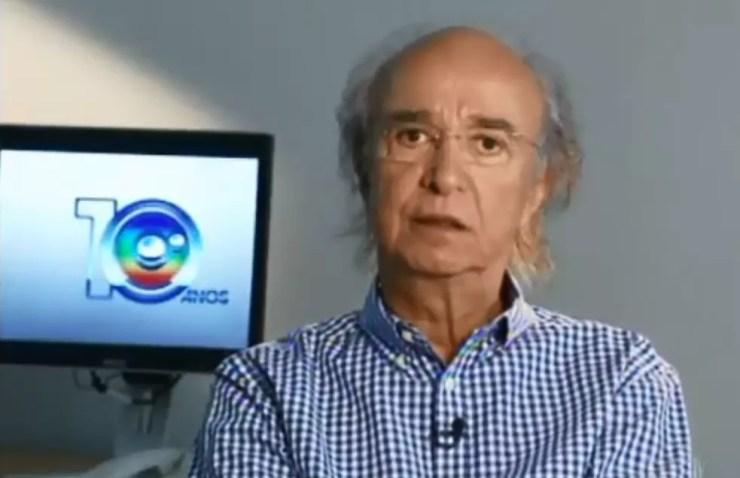 J. Hawilla fundou a TV TEM, afliada da Rede Globo no interior de SP (Foto: TV TEM/Reprodução)