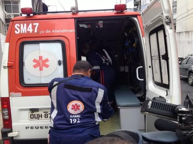 Caso ocorreu em bairro nobre da capital baiana (Foto: Henrique Mendes / G1)