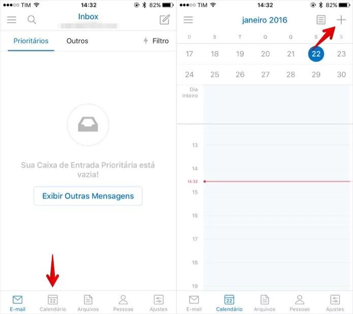 Como agendar uma ligação via Skype com o app do Outlook
