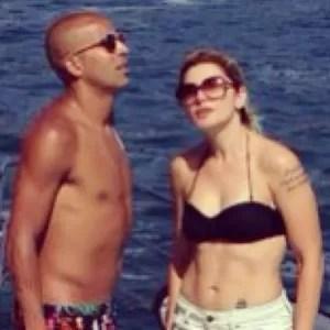 Emerson Sheik e Antonia Fontenelle (Foto: Reprodução/Instagram)