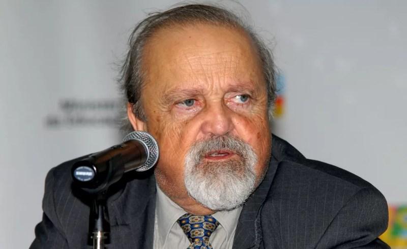 O ex-reitor da UnB Roberto Aguiar — Foto: Valter Campanato/Agência Brasil
