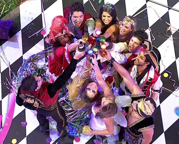 Retrospectiva bbb 13 festas (Foto: Tv Globo/BBB)