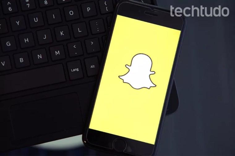 Snapchat ganhou novo design que desagradou muitos usuários (Foto: Carolina Ochsendorf/TechTudo)
