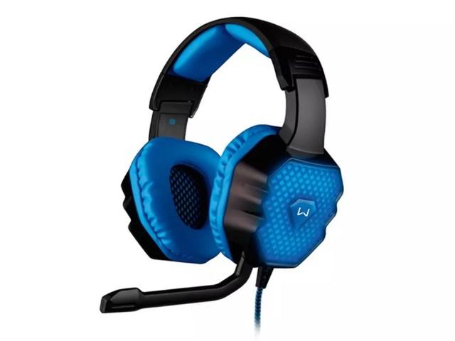 Headset gamer da Multilaser traz 7.1 canais de áudio ao PC e pode ser encontrado em várias cores (Foto: Divulgação/Multilaser)