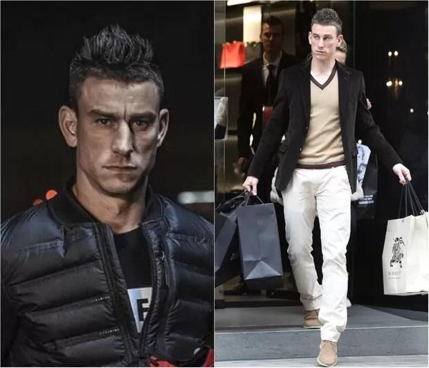 O francês Laurent Koscielny, 30 anos, não dispensa tarde de compras nas avenidas Montaigne ou na Champs Elysées, em Paris (Foto: Getty Image)