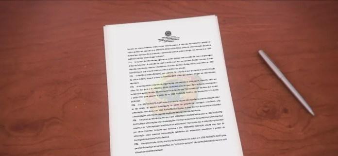 Operação Chabu: Prefeito de Florianópolis, Gean Loureiro, e mais 16 pessoas são indiciados pela PF — Foto: NSC TV/Reprodução