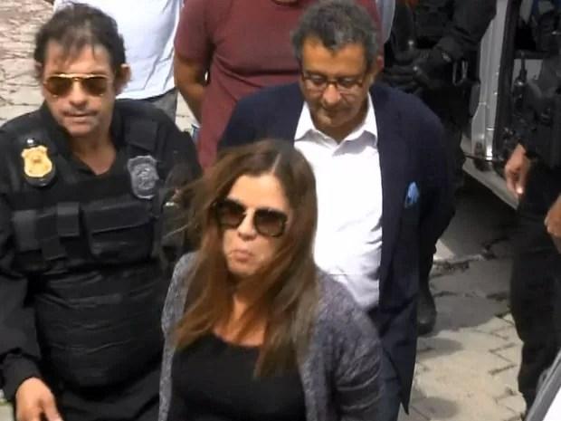 GNews - Mônica Moura e João Santana (Foto: Reprodução/GloboNews)