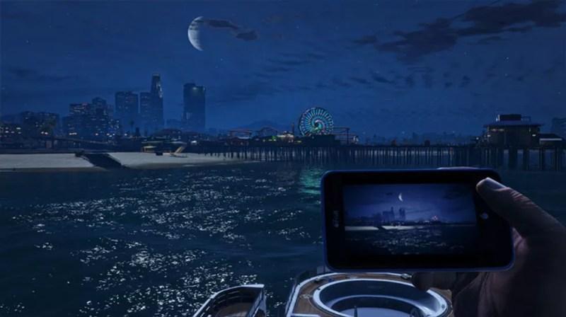 Jogadores acreditam ter encontrado pistas sobre GTA 6 em recentes trailers de GTA Online, mas sem maiores detalhes sobre a localidade do jogo — Foto: Divulgação/Rockstar Games