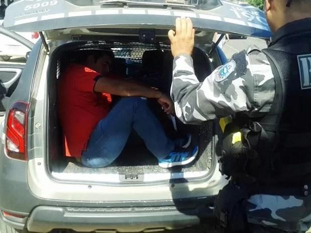 prisao marido da prefeita de monte horebe - OPERAÇÃO ANDAIME: PF prende prefeita de Monte Horebe e marido