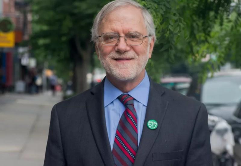 O candidato Howie Hawkins, do Partido Verde — Foto: Divulgação