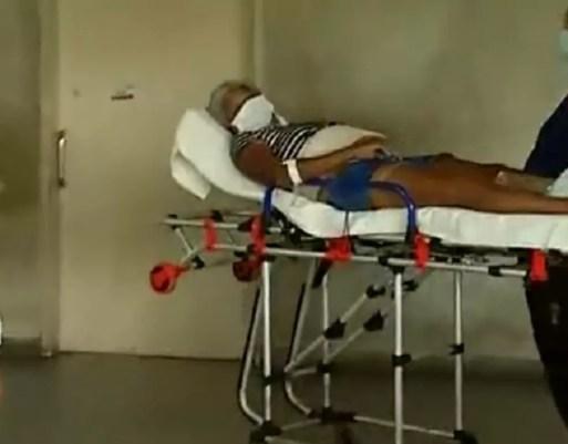 Homem atirou em ex-companheira e mais três pessoas, entre elas uma criança, no interior do RN. — Foto: Reprodução/Inter TV Cabugi