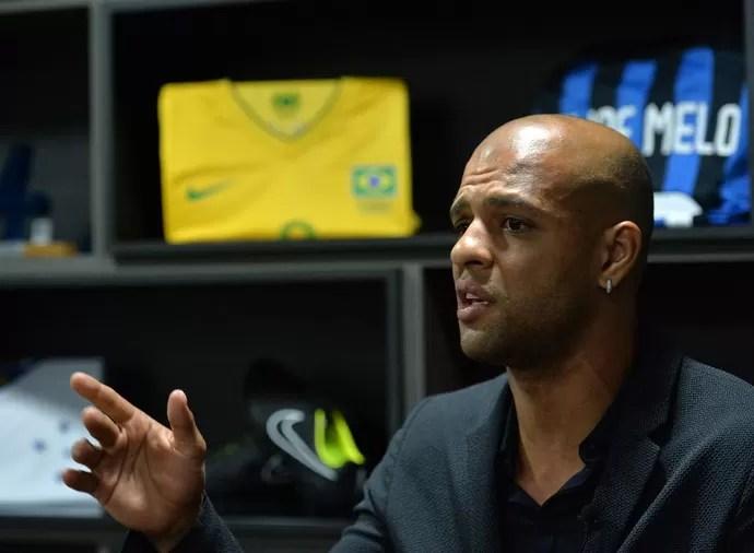 Felipe Melo (Foto: André Durão)