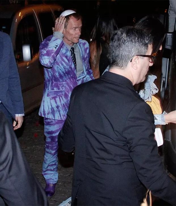 Flea do Red Hot Chili Peppers (Foto: Marcos Ferreira/ BrazilNews)
