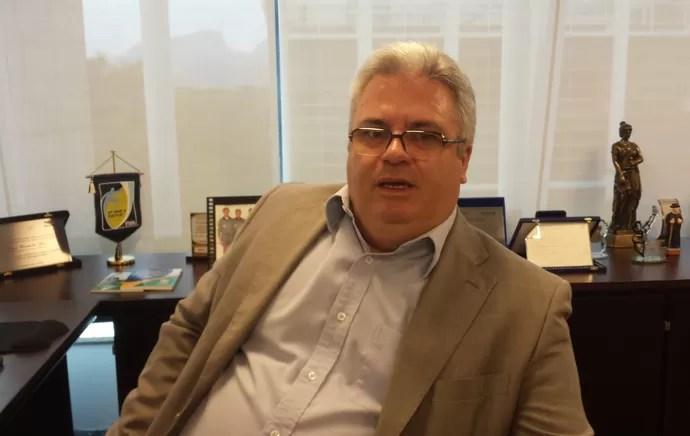 Sérgio Correia - presidente da Comissão Nacional de Arbitragem (Foto: Vicente Seda)